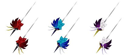 ダンサー武器アバター